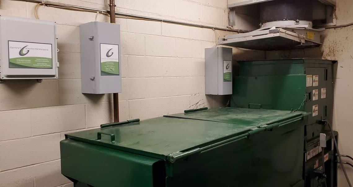 Trash Room Odor Control