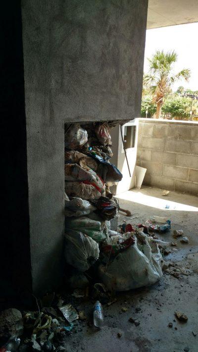 Failed Trash Chute